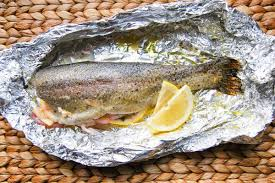 Easy 20 Minute Oven Baked Trout