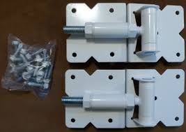 Vinyl Fence Gate Hinges White Pair By Custom Fence On Galleon Philippines