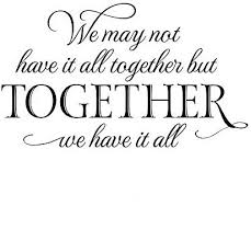 com yingkai we not have it all together but together