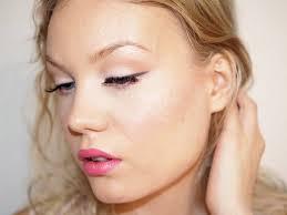 fresh pink full face makeup tutorial
