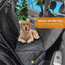 quilted pet dog car rear seat cover