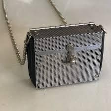 Wendy Stevens Bags | Stainless Steel Leather Crossbody | Poshmark
