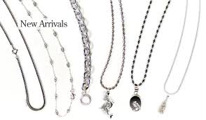 sterling silver chains jewelry