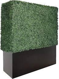 Artigwall Artificial Boxwood Hedge Divider Wall With Planter Box 120cmh 120cml 30cmd Amazon Co Uk Garden Outdoors