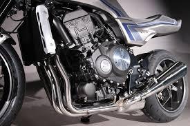 retro design motorcycle cb f concept