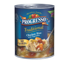 progresso traditional en rice with