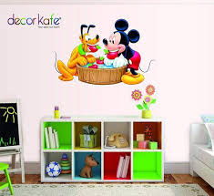 Decor Kafe Mickey Mouse Wall Decals Sticker Kids Nursery Decor Wall Stickers At Rs 99 Piece Wall Stickers Id 19874639212