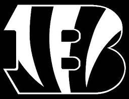 Cincinnati Bengals Logo Car Decal Vinyl Sticker White 3 Sizes Ebay