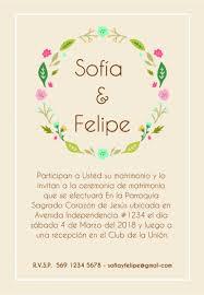 Partes De Matrimonio Tarjetas Invitaciones Recetarios 499