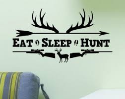 Hunting Wall Decal Etsy