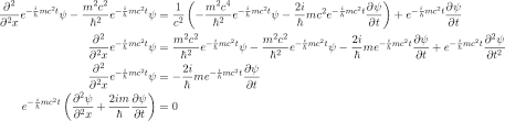 schrödinger wave equation derivation
