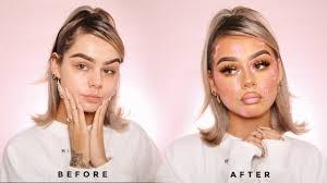 insram filter makeup look