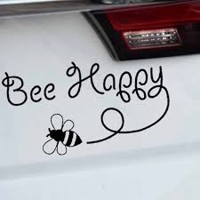 Buy 2 Pieces Car Sticker Cute Bee Pattern Waterproof Removable Decal Car Sticks Decals At Jolly Chic