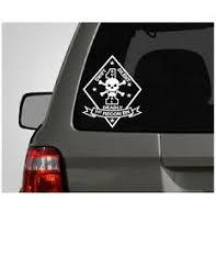 U S Marine Corp 1st Recon Battalion Vinyl Window Decal Sticker Ebay