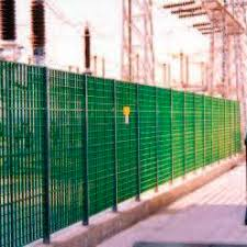 Safety Fence Eurograte Fibreglass Gratings Frp
