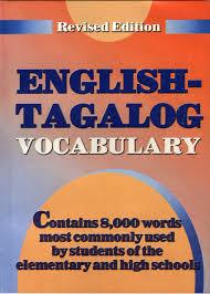 DICTIONARY ENGLISH TAGALOG - English ...