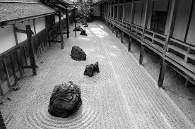 japanese zen garden photograph by