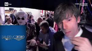 Sanremo 2020 - Lite tra Morgan e Bugo, il video del backstage ...