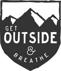 Get Out And Breathe Mountain Hiking Nature Car Decal Car Decals Outdoor Stickers Hiking