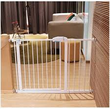 Child Safety Door Guardrail Walk Through Baby Safety Fence Dog Cage Railings Anti Dog Fence Indoor Expandable Dog Gates Barrier Pet Cats Fence Door Pressure Mount Pet Stairs Railing Amazon Co Uk Kitchen Home