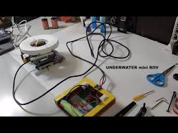 mini rov diy underwater submarine
