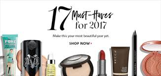 must haves for 2017 beauty cosmetic