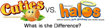 difference between cuties halos