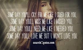 u ll miss me quotes