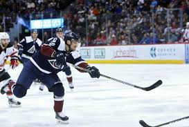 Sven Andrighetto making the most out of his time in Colorado