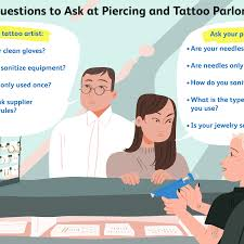body piercing and tattooing by state