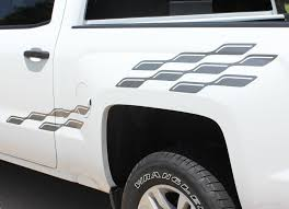 2000 2018 Chevy Silverado Decals Champ Truck Bed Side Vinyl Graphic Auto Motor Stripes Decals Vinyl Graphics And 3m Striping Kits