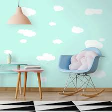 Roommates Clouds Peel And Stick Wall Decals Wall Decor Stickers Amazon Com