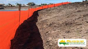 Silt Fence Orange 100m Rolls Aussie Environmental