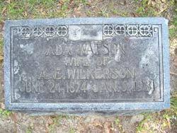 Ada Watson Wilkerson (1874-1931) - Find A Grave Memorial