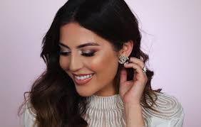 natural bridal makeup tutorial with