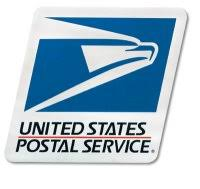 S1000955 Decal Postal Logo 10 Hx11 3 4 W Tri Color Not For Collection Boxes S1000955