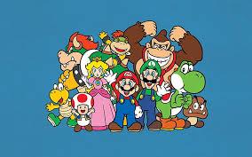 hd wallpaper super mario characters