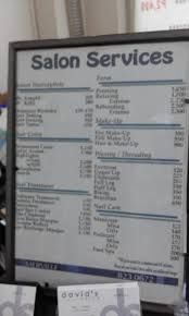 david s salon hair and makeup list