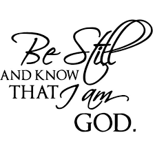 Shop Be Still And Know That I Am God Vinyl Wall Decal Overstock 8774692
