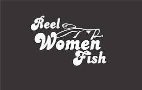 Stickerchic Reel Women Fish Decal Fishing Truck Boat Car Window Trout Bass Sticker 4x6