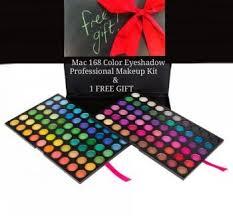mac 168 color eyeshadow makeup kit