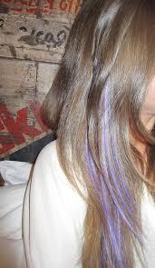 Pin by Effie Wagner on Hair | Hair streaks, Lavender hair streak, Hair