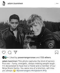Adam Tuominen's Pua Post - Morphin' Legacy