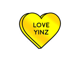 Pittsburgh Sticker Love Yinz Holographic Heart Decal Weatherproof Vinyl Pittsburgh Souvenir Pittsburgh Gift Laptop Sticker In 2020 Heart Decals Print Stickers Pittsburgh Gift