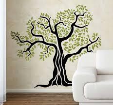 Old Olive Tree Wall Sticker Tenstickers