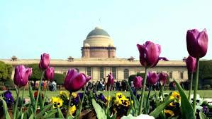 rename mughal garden after first prez