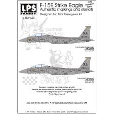 Lps 7240 Mcdonnell F 15e Strike Eagle Iraq Freedo Decals 1 72 The Largest Choice With 1001hobbies Com
