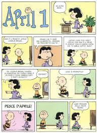 1 Aprile   Immagini divertenti, Pesci d'aprile e Snoopy