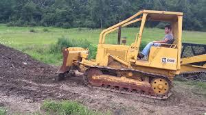 caterpillar d3b bull dozer crawler