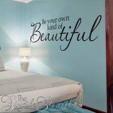70 Best Girl S Room Wall Quotes Pretty Simple Stencil Decals Images In 2020 Vinyl Wall Quotes Girls Bedroom Makeover Vinyl Wall